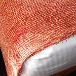 Shredded bedspread