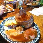 A hearty roast dinner