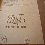 Salt Water CAfe Menu