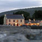View of restaurant from pier - Ballyvaughan