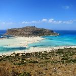Balos beach, in the very north-west of Crete