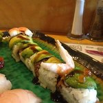 one of the many rolls at Kobe