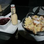 Kaiserschmarrn mit Ingwer-Vanille Sauce and Pflaumenkompott