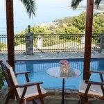 Pool area -PelionCountry Villas Theodorides Estate