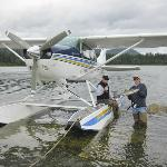 Butch's seaplane