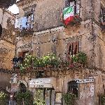 Hotel President in Castiglione di Sicilia (April 2010)