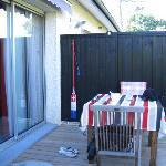 terrasse privee de la chambre