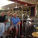 a bar with brewing tun,