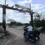 A bit tricky on a motorcycle
