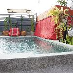Rooftop mini pool
