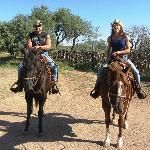 One of the trail rides
