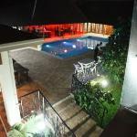 Night overview of Luxury Hotel Rwanda
