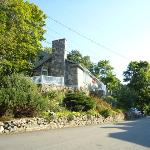 Street view of the Stone House, Yellow Monkey, Ogunquit