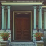 Front Door of this beautiful Victorian Home of Incredibly Delicious