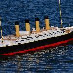 Scale model of Titanic