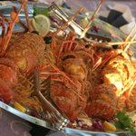 Lobster on buzzarra