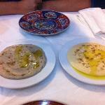 baba y humus