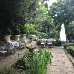 Garden, beautiful! Don't forget to breakfast here.