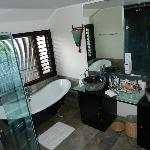 Great bathroom in Pool Suite