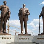 Three Chiefs' Statues