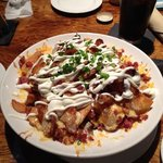 loaded chip appetizer
