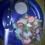 Half portion of Reggae Salad