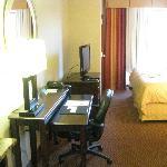 Desk & Television