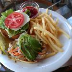 The ahi sandwich - well-prepared and delicious.....