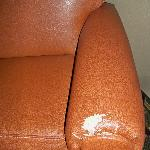 Beat up chair