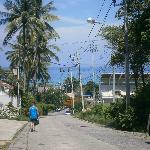View down the hill to Karon Beach from Horizon Resort