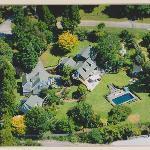 Aerial view of Brenton Lodge