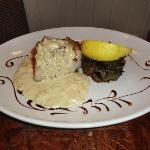 The herb crusted cod main