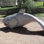 Huge Fish Sculture