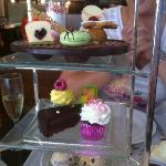 Nice selection of cakes