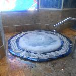 Piscina de agua caliente