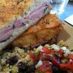 Monte Cristo Sandwich & Quinoa Hoppin' Johnny