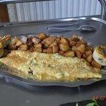 l'omelette au cèpes de Dordogne