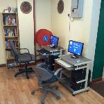 Common Area PC With Paid Internet Other Then The Free WIFI