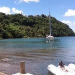 Marigot Bay dal ristorante