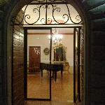 ingresso stanze corpo centrale
