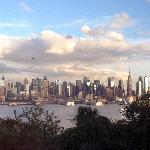 Manhattan Skyline From Charrito's