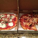 perfect pizza from the best in Sarasota, Solorzano Bros.
