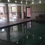 Great indoor pool/spa.