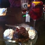 German Choclate cake and sangria