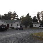 Motel et stationnement au 30 août 2012