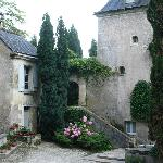 Exterior of Chateau Nazelles