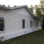 Façade avant du motel au 30 août 2012.