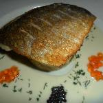 I recommend the black sea bream