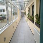 corridoio per la zona posteriore