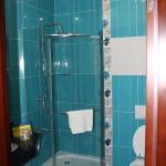 Bathroom spotless and very modern